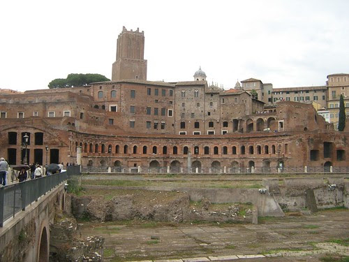 Forum of Augustus and Trajan's Market
