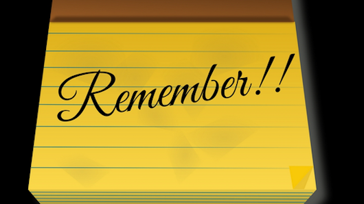 Remember Reminder app project