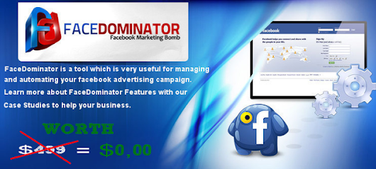 [GET] FaceDominator 3.5.032 Agency Cracked - Best Facebook Marketing Tool - Best Cracked SEO Tools & Online Marketing Courses