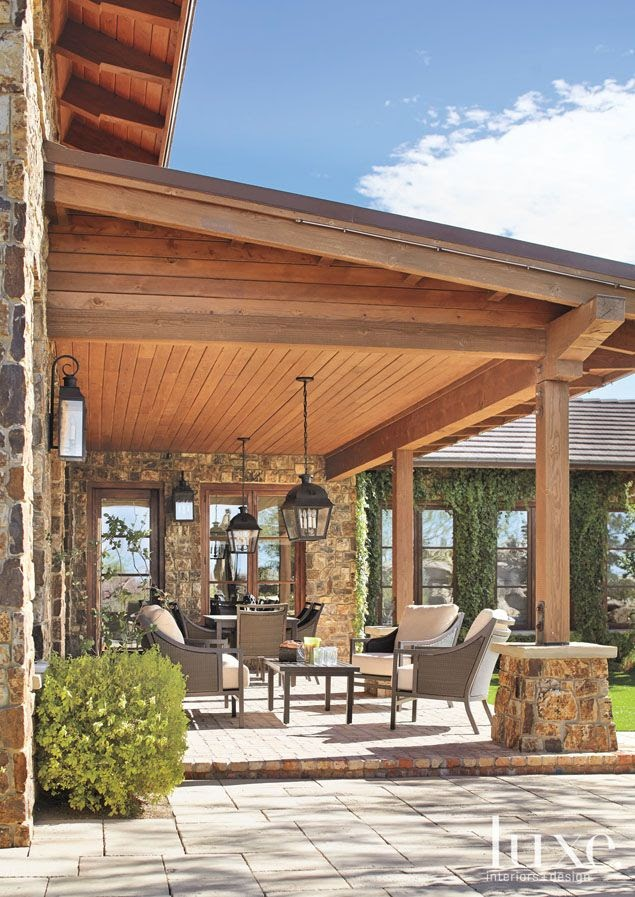 Awesome Covered Patio Design wallpaper