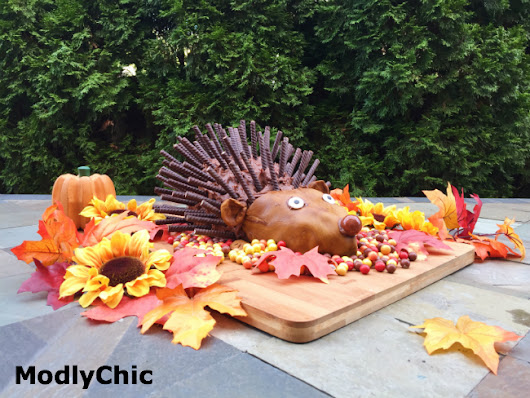 Hedgehog Cake with Sweetworks Candy - ModlyChic