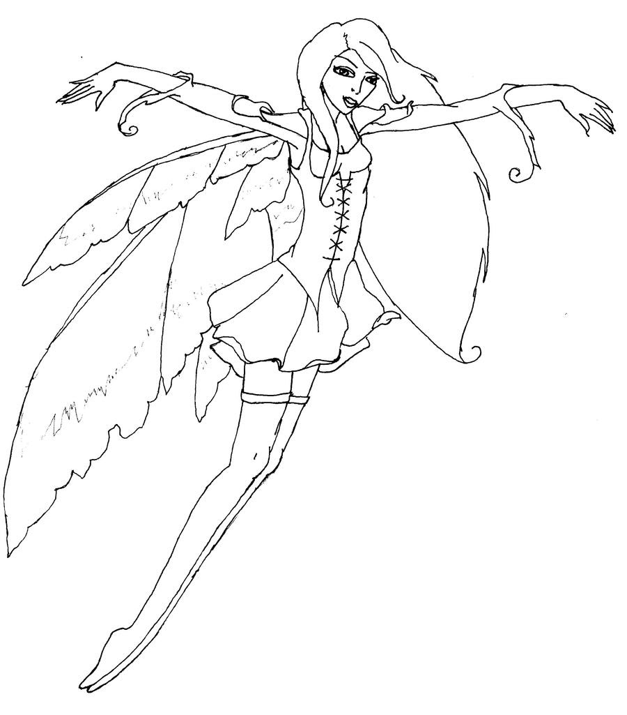 Amy Brown Fairy Coloring Pages For Adults Coloring Pages
