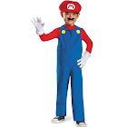 Disguise Super Mario Bros. Toddler Mario Costume, Red/Royal Blue