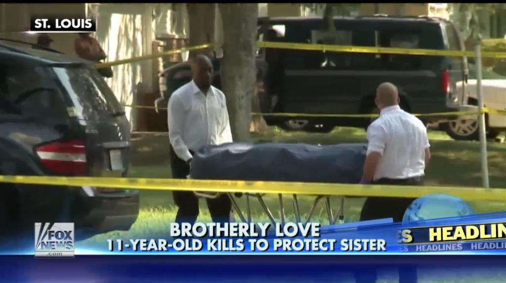11 yr old kills burglar breaking into home