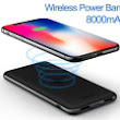 8,000mAh Qi Wireless Charging Power Bank $18