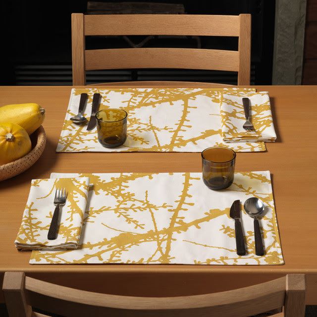 Unison - Larch Table Linens - modern - tablecloths - by 2Modern