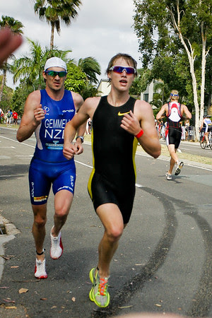 Chris Gemmell - 2008 Noosa Triathlon, Noosa Heads, Sunshine Coast, Queensland, Australia. Photos by Des Thureson - http://disci.smugmug.com