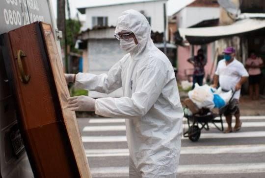 Com UTIs cheias, Brasil está há 37 dias com média de mortes acima de mil