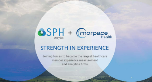 SPH Analytics and Morpace Health Division Merge to Form Nation's Largest Member Experience Measurement and Analytics Firm