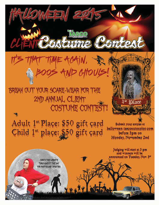 Halloween 2015 Costume Contest is Here!
