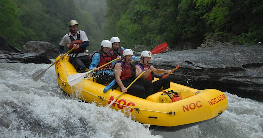 Five myths about whitewater rafting