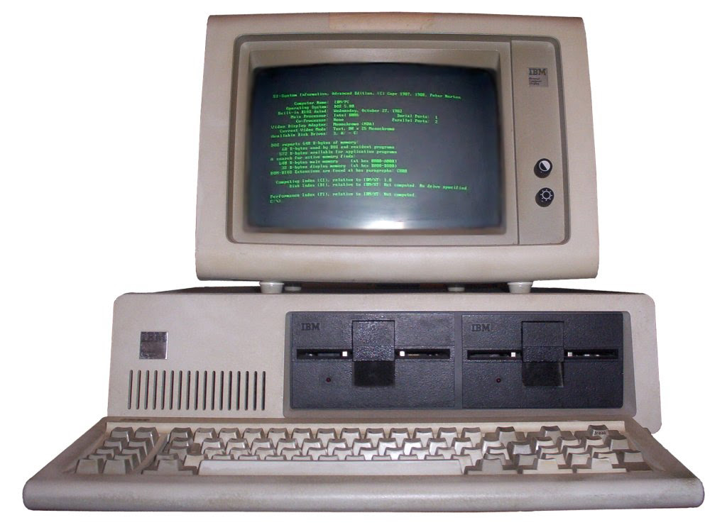 IBM-PC-5150-monochrome-display