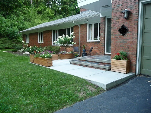 Cindy's midcentury modern porch remodel, including traditional ...
