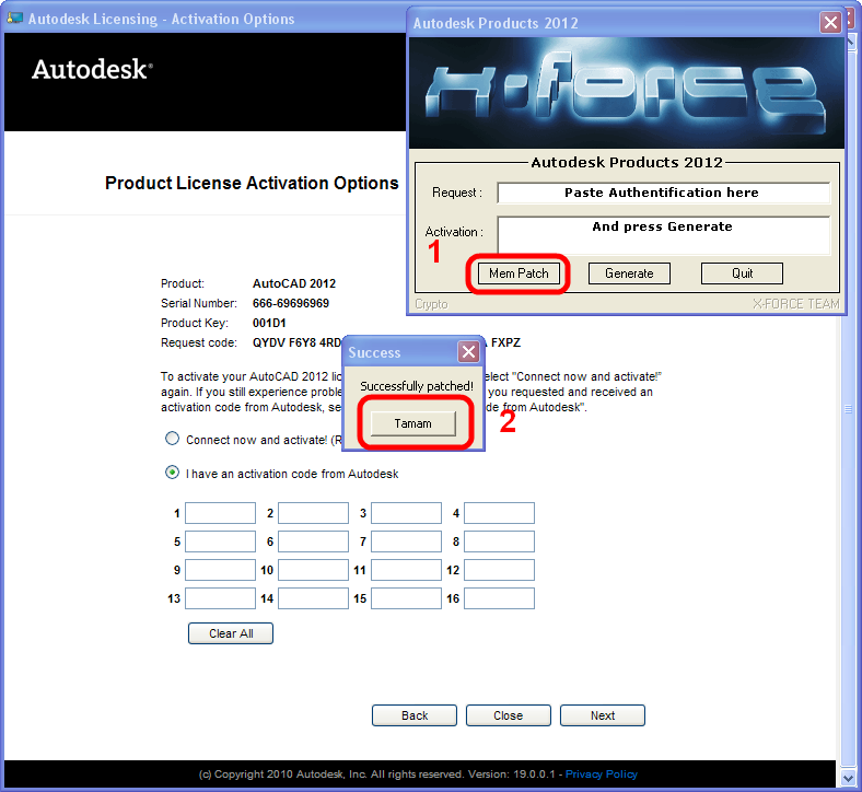 autocad 2012 64 bit crack only free download