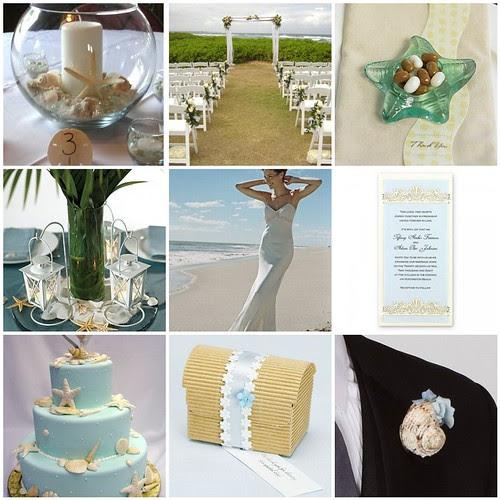 Beach Theme Wedding Supplies