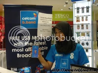 Celcom Broadband Fortune Mask