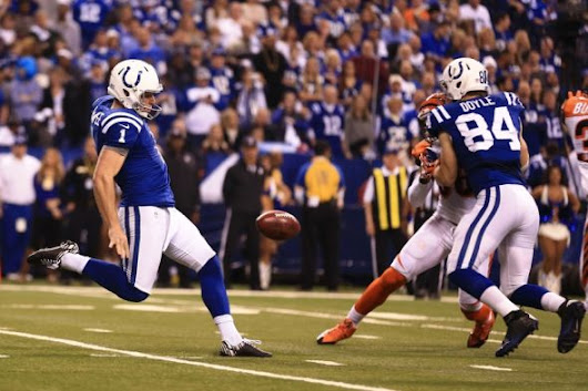 Indianapolis Colts punter mocks ESPN analysts