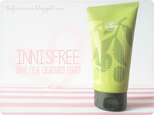 [Review] INNISFREE Olive Real Cleansing Foam.