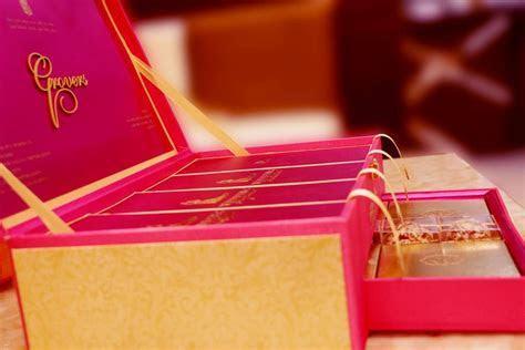 indian wedding card box design   Modern Wedding Card