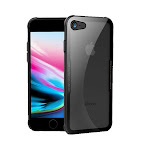 Achoro Glass Crystal Clear Case Compatible with iPhone 7 & iPhone 8