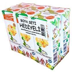 Benorganic Organik çilekli Meyve Suyu 6x200ml Ekoorganik