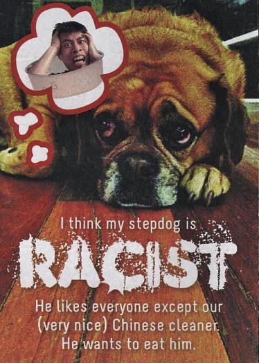 2racistdog