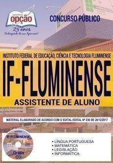 Apostila Concurso IF Fluminense 2018 | ASSISTENTE DE ALUNO