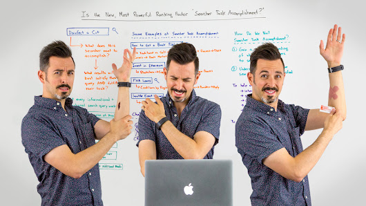"Is the New, Most Powerful Ranking Factor ""Searcher Task Accomplishment?"" - Whiteboard Friday"