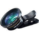 Super Wide Angle & Macro Lens with Filter for Smartphone, iPhone, Samsung. Professional Photographer Smartphone Camera Lens. Premium Quality