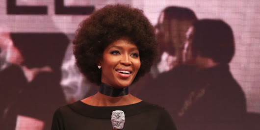 LOOK: Naomi's Afro Is Awesome
