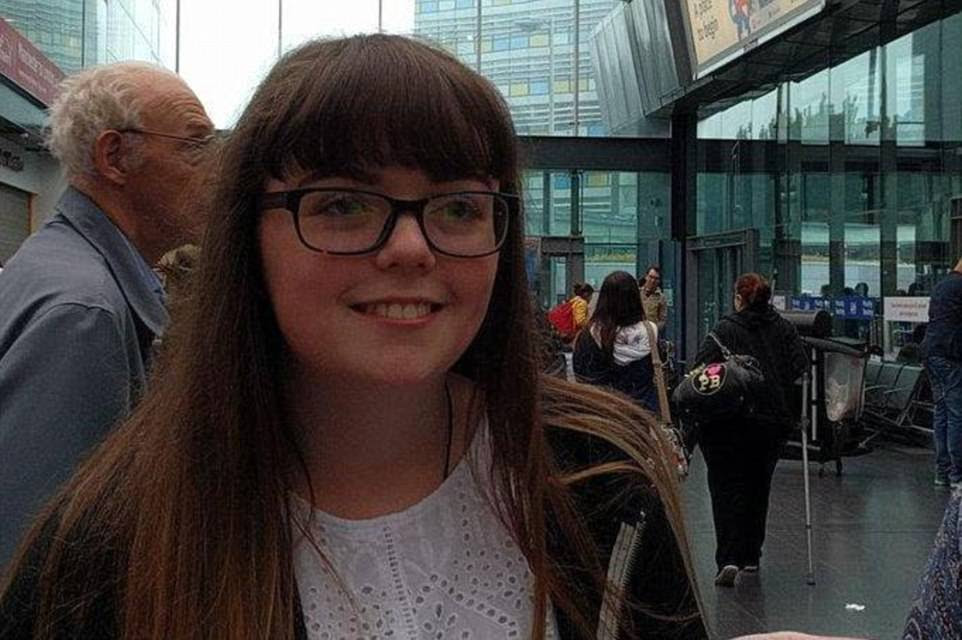 The first victim of the Manchester terror attack has been named locally as 18-year-old Georgina Callander (pictured)
