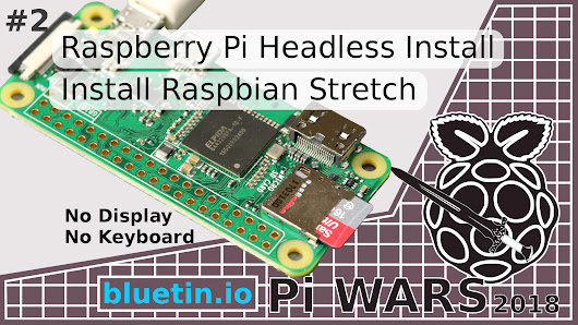 Raspberry Pi Headless Install Without A Display Guide - bluetin.io