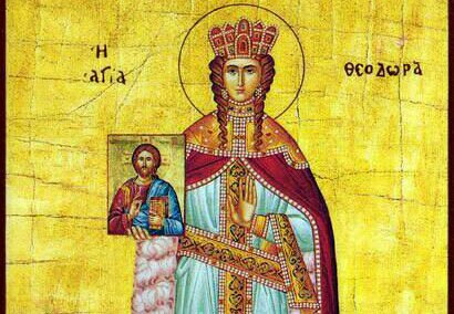 Theodora, Empress-regent that ended the iconoclast struggle in Byzantine Empire