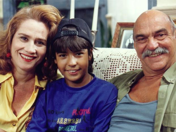 Com Vera Holtz e Lima Duarte em