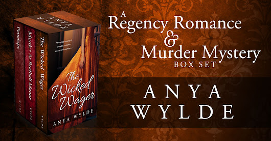 Showcase Spotlight: A Regency Romance and Murder Mystery Box Set by Anya Wylde - Beetiful Custom and Predesigned (Premade) Book Covers