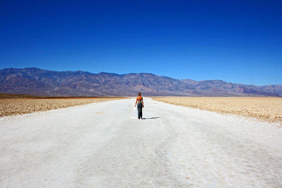 La Vallée de la mort , Une végétation inexistante , Etats-Unis