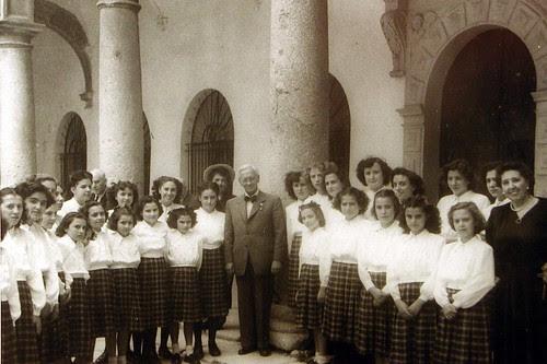 Alexander Fleming en Toledo. Foto Rodríguez