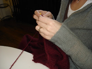 jen's hands.
