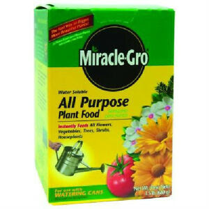New 1001122 Miracle Gro All Purpose Plant Food, 1.5-Pound ...