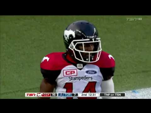 Roy Finch with the Head Fake and 103-yard Touchdown