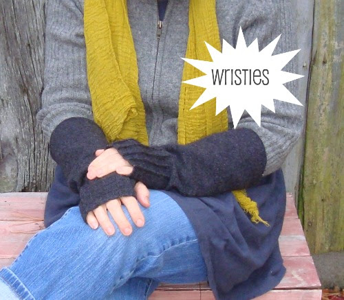 simple gifts: diy wristies (loose option)