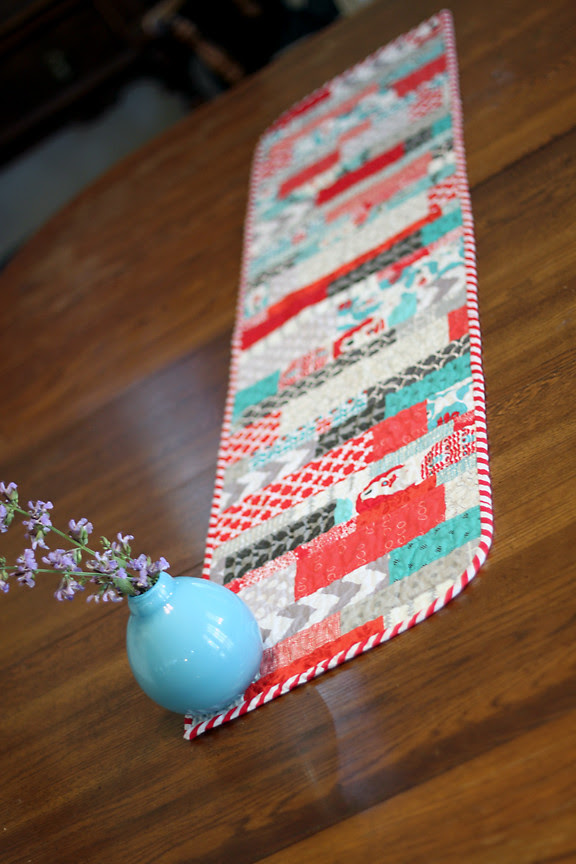 Holiday Bear Table Runner