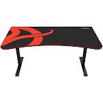 Arozzi - Arena Gaming Desk - Red/Black