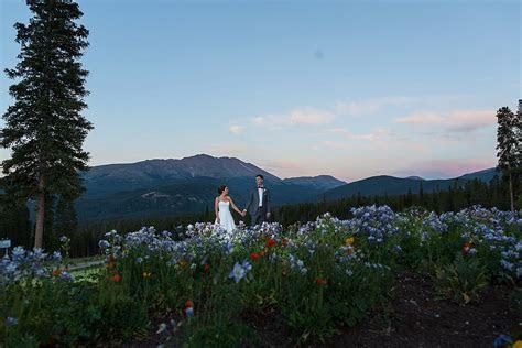 Summer Ten Mile Station Breckenridge Colorado Wedding