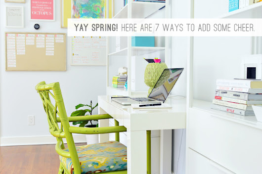 7 Sweet (And Deceptively Simple) Spring Projects