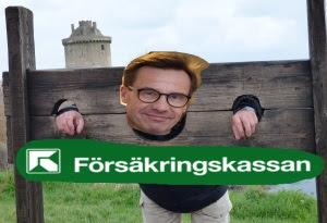 Ulf Kristersson och stupstocken