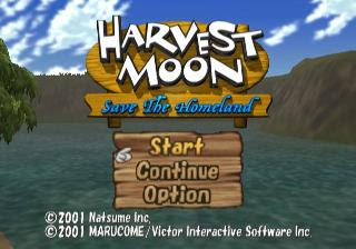 Screenshot Thumbnail / Media File 1 for Harvest Moon - Save the Homeland (USA)