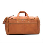 David King Leather Extra Large Multi Pocket Duffel B3168991