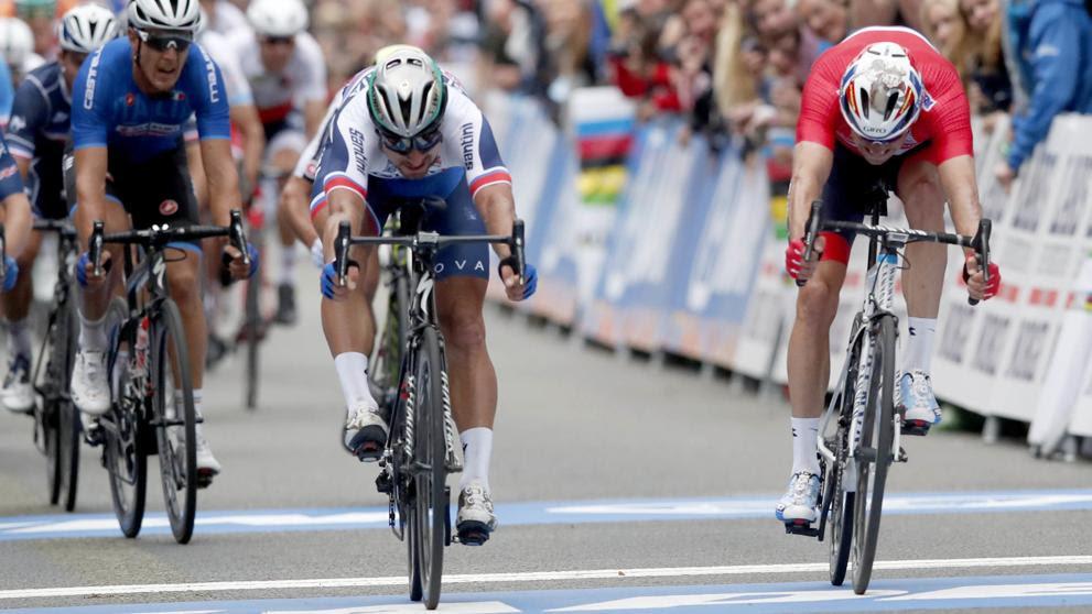 Resultado de imagen de mundial de ciclismo 2017 bergen peter sagan