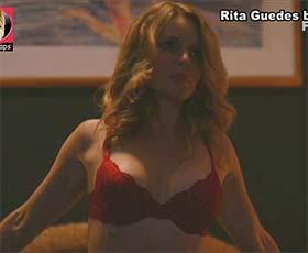 Rita Guedes super sensual na serie 1 contra todos